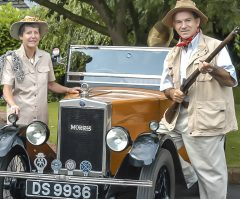 Back to Africa in a 1929 Morris Minor