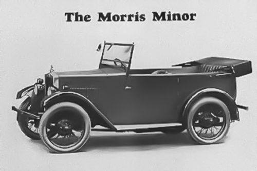 19290101 Handbook Morris Minor 4 Seat Tourer launched for 1929 Season