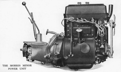 19290101 Handbook Morris Minor OHC Engine 850cc 8H.P.