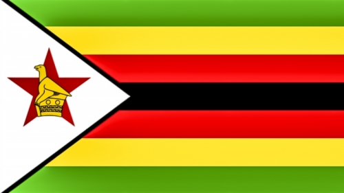 20190717 Return to Africa -  Zimbabwe Flag