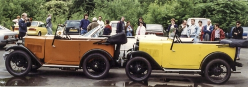 19930503 Touring - DS9936 and PL7143 (1931) vs Cadillac MOREG Manneken Pis Belgium Rally