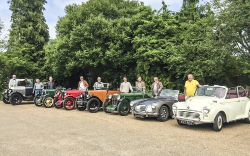 20180604 Home Counties MG Meeting at The Parrot, Forrest Green, Surrey