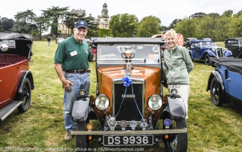 20180812 DS9936 Winner at MOREG Nat. Rally Thoresby Hall 25th Anniv. Peter & Sandy PH4_0074
