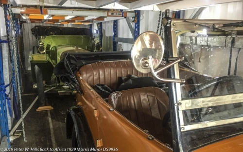 20191101.2 Morris with 1911 Sunbeam in Container Cape Town RSA PH3_9585