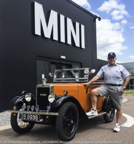 20190712 M10228 Peter at MINI Factory Cowley Oxford England PH3 8937