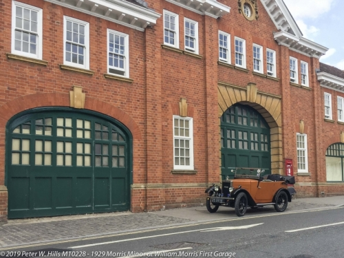 20190712 M10228 at William Morris First Garage Longwall Oxford England PH3 8926